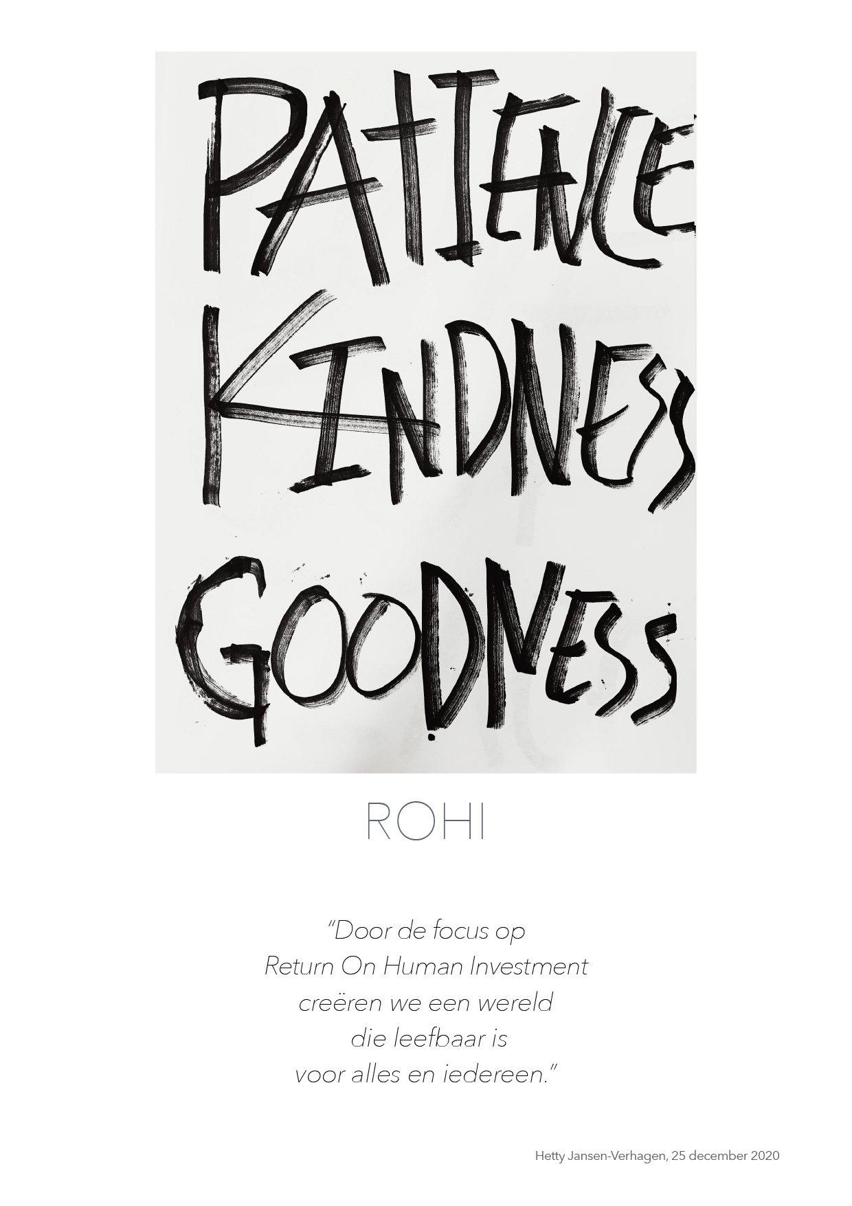 ROHI - Return on Human Investment - quote HJTC