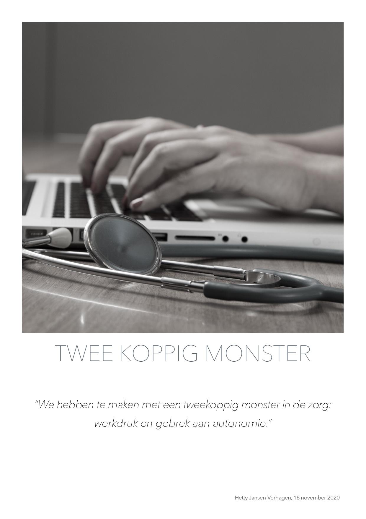 Twee koppig monster - quote HJTC